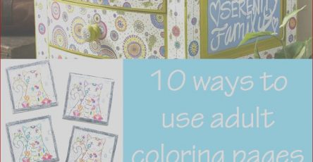 How to Make A Coloring Book for Adults Unique Collection 10 Ways to Use Adult Coloring Pages – In Crafts