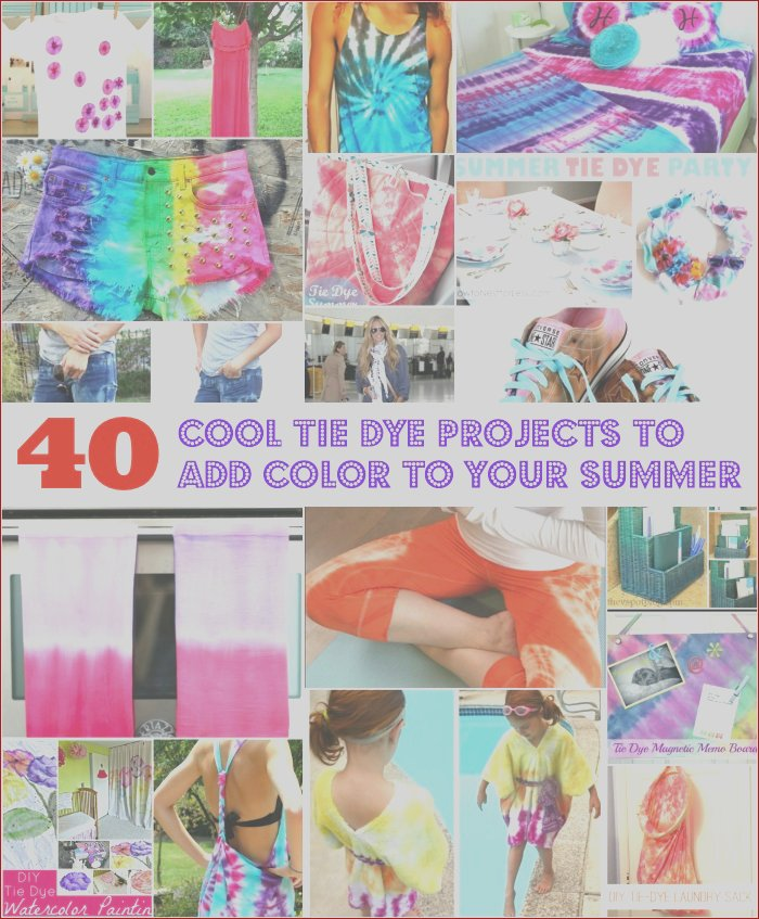 how to make a tie dye shirt with food coloring