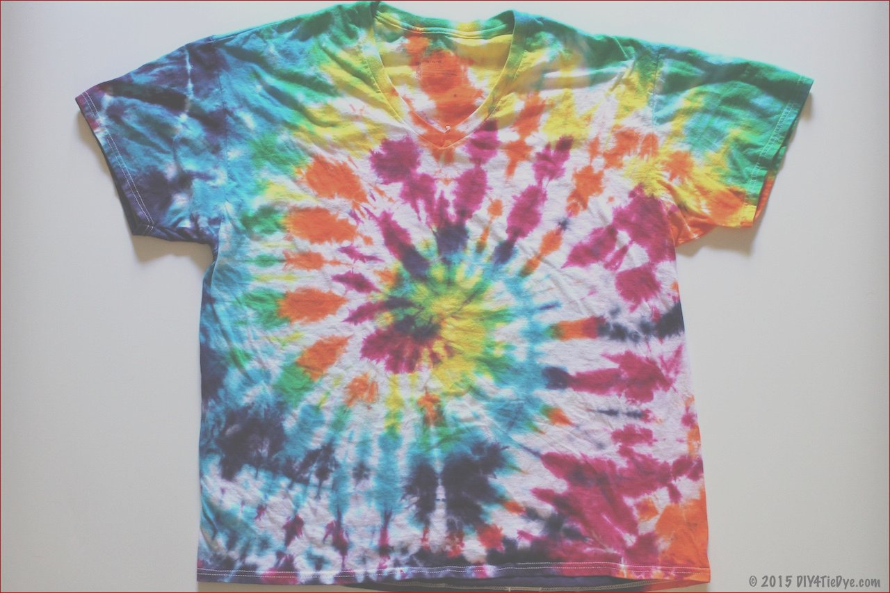 step step make tie dyed t shirt