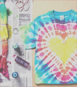 How to Make Tie Dye with Food Coloring Unique Collection How to Make A Tie Dye Shirt with Tulip