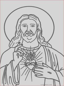 Jesus Coloring Pages for Kids Beautiful Image Free Printable Jesus Coloring Pages for Kids