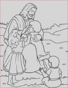 Jesus Coloring Pages for Kids Beautiful Stock Free Printable Jesus Coloring Pages for Kids