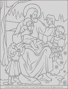 Jesus Coloring Pages for Kids Cool Photos Jesus Let the Little Children E to Me Coloring Page