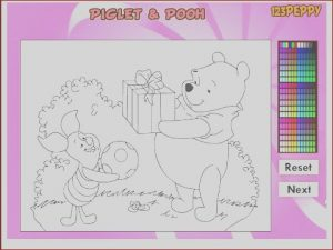 Online Coloring Kids Beautiful Stock Winnie the Pooh Coloring Pages Disney Line Coloring