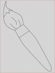 Paint Brush Coloring Beautiful Stock Painter 10 Jobs – Printable Coloring Pages