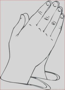 Praying Hands Coloring Page Awesome Photos Praying Hands Coloring Pages at Getcolorings