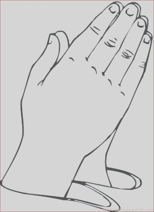 praying hands coloring pages