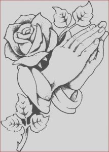 Praying Hands Coloring Page Beautiful Gallery Praying Hands Coloring Pages at Getcolorings