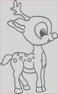 Printable Coloring Sheets for Kids Unique Stock Christmas Baby Reindeer Printable Coloring Pages for