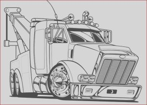 Semi Truck Coloring Pages Elegant Photography Big tow Semi Truck Coloring Page Netart