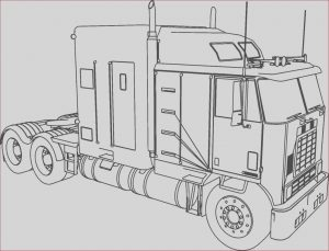 Semi Truck Coloring Pages New Image Diesel Truck Coloring Pages at Getcolorings