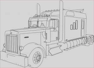 Semi Truck Coloring Pages Unique Image Semi Truck Coloring Pages