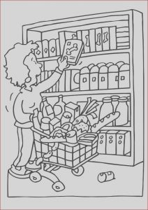 Shopping Coloring Pages Beautiful Image Coloring Page Shopping Free Printable Coloring Pages