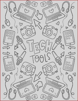 STEAMSTEM Coloring Sheets for Makerspace hand drawn by hipsterartteacher