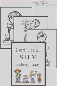 Stem Coloring Elegant Photography I Want to Be Stem Coloring Pages Year Round Homeschooling