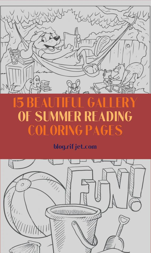 Summer Reading Coloring Pages Beautiful Photos Coloring Sheet Summer Reading