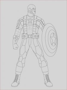 Super Hero Coloring Inspirational Photos Captain America Coloring Pages