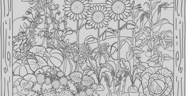 Garden Pictures for Coloring New Photography Gardening Coloring Pages to and Print for Free