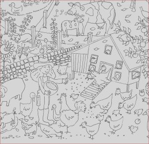 Agriculture Coloring Pages Cool Gallery Farm Colouring In Poster by Really Giant Posters
