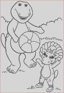 Barney Coloring Pages New Images Free Barney Coloring Pages Coloring Home