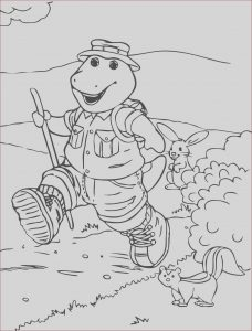 Barney Coloring Pages New Photos Barney Coloring Pages for Preschoolers