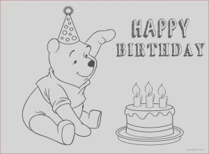 Birthday Coloring Page Awesome Collection Free Printable Birthday Cake Coloring Pages for Kids