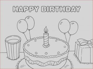 Birthday Coloring Page Beautiful Stock 40 Free Printable Happy Birthday Coloring Pages Coloring