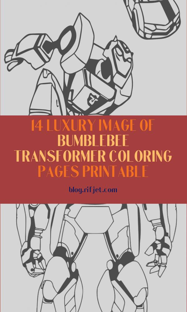 Bumblebee Transformer Coloring Pages Printable Elegant Collection Bumblebee Car Transformers Coloring Page