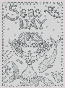 Coloring Books Adults Beautiful Images Seas the Day Instant Download Coloring Page Book Art Adult