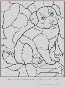 Coloring Books Online for Adults Cool Stock Color by Number Mosaic for Kids