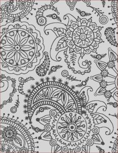 Coloring Books Patterns Cool Collection Coloring Page World Paisley Flower Pattern Portrait