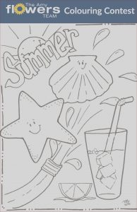 Coloring Contest Beautiful Photos Summer Colouring Contest Amy Flowers