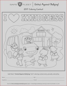 Coloring Contest Beautiful Photos United Against Bullying Contests