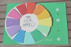 Coloring Crafts for Kids Inspirational Image Doodlecraft Fun Foam Color Wheel Teaching Aid