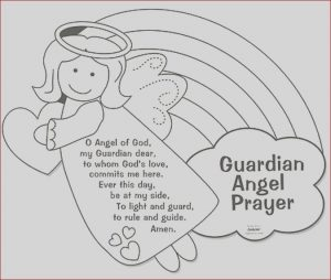 Coloring Crafts for Kids Luxury Photography Color Your Own Guardian Angel Prayers Arts & Crafts