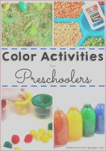 Coloring Games for Preschool Cool Photography 30 Activities to Explore Colors Pre K Pages
