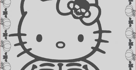 Coloring Pages Halloween New Photography Hello Kitty Halloween Coloring Pages