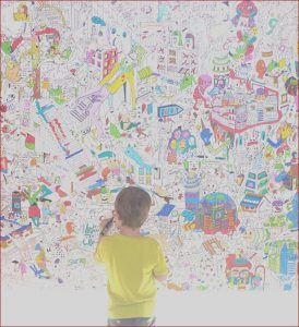 Coloring Wall Murals Awesome Photos Bring Kid Elicious Style to An Interior Door with