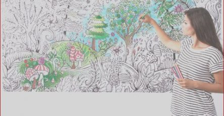 Coloring Wall Murals Luxury Photos Bright & Bold™ Giant Coloring Wall Murals forest Print