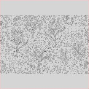 Coloring Wall Murals New Collection Dwm2258 Wilderness Coloring Wall Mural by Brewster