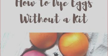 Dying Eggs with Food Coloring without Vinegar Awesome Image How to Dye Easter Eggs without A Kit Recipe