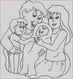 Family Members Coloring Pages Best Of Image New Family Member Coloring Page