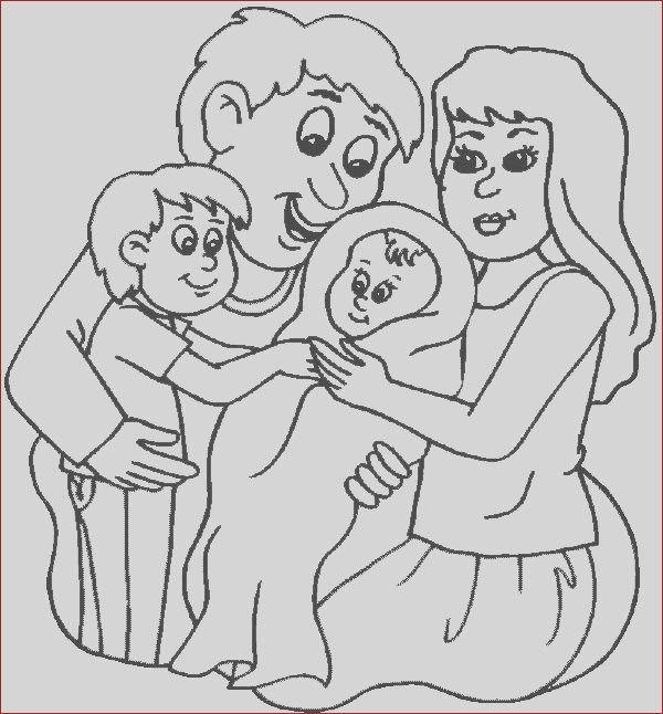 new family member coloring page