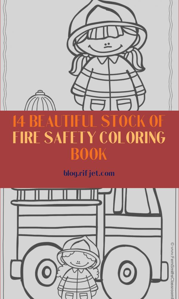 Fire Safety Coloring Book Cool Photos Fire Safety Drawing at Getdrawings