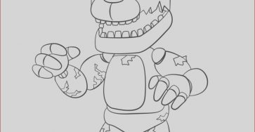 Fnaf Coloring New Images Spring Trap Fnaf Free Colouring Pages