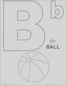 Free Alphabet Coloring Pages Elegant Gallery Printables Alphabet B Coloring Sheets