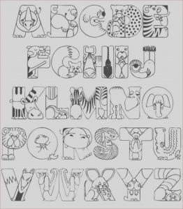 Free Alphabet Coloring Pages New Collection whole Alphabet Coloring Pages Free Printable Coloring Home