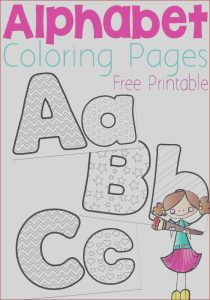Free Printable Coloring Pages for Kindergarten Luxury Images Free Alphabet Coloring Pages