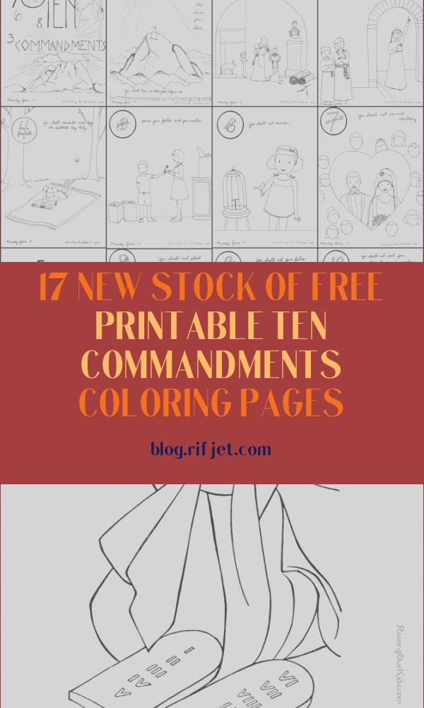 Free Printable Ten Commandments Coloring Pages Luxury Stock 10 Mandments Coloring Book [free Printable Pdf] Pages