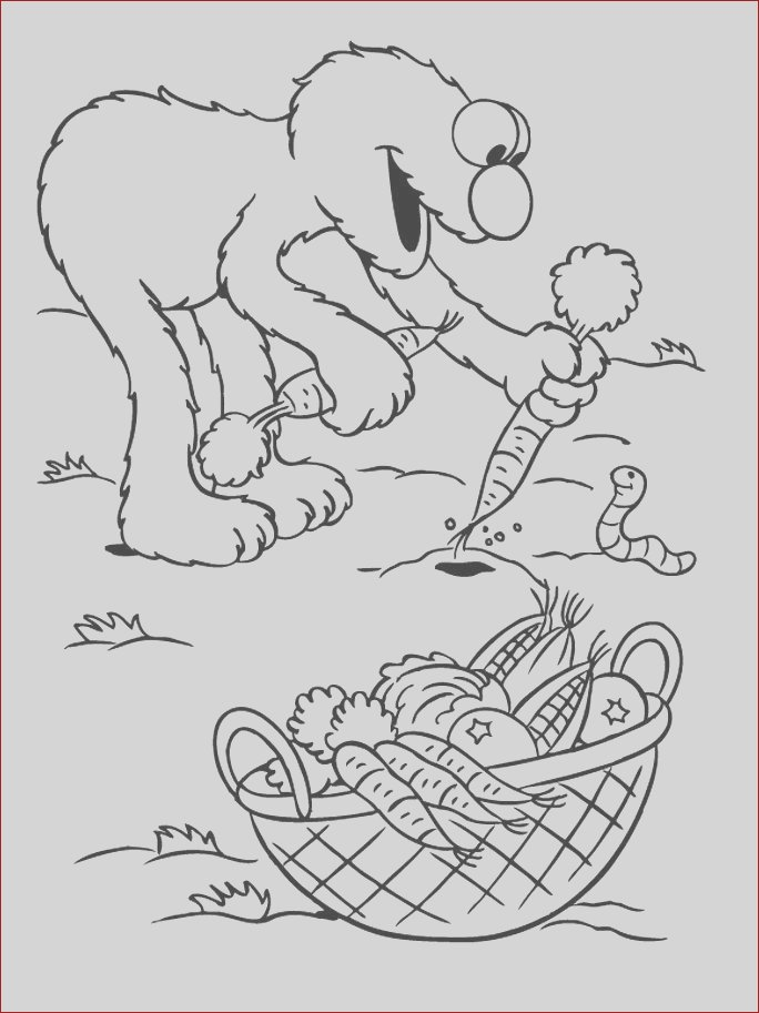 harvest coloring page